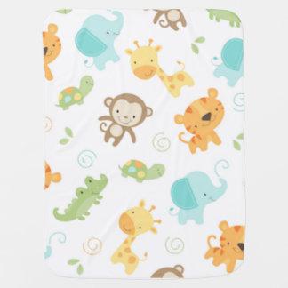 Mantita Para Bebé Bebés de la selva