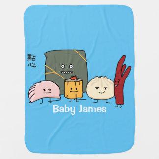 Mantita Para Bebé Bollo chino de los bollos de la bola de masa