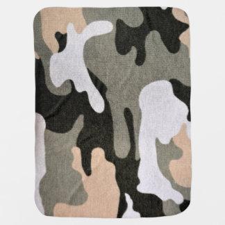 Mantita Para Bebé Camuflaje, militar