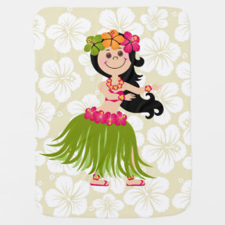 Mantita Para Bebé Chica hawaiano