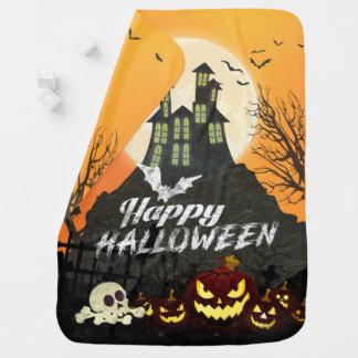 Mantita Para Bebé Cielo nocturno fantasmagórico Halloween del traje
