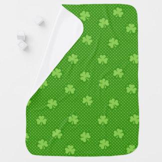 Mantita Para Bebé Día verde de Patricks del santo del modelo del