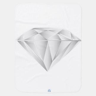 Mantita Para Bebé Diamante blanco para mi amor