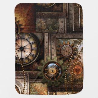 Mantita Para Bebé Diseño maravilloso del steampunk