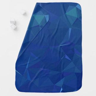 Mantita Para Bebé Diseños abstractos y limpios de Geo - hielo de
