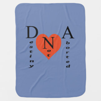 MANTITA PARA BEBÉ DNA