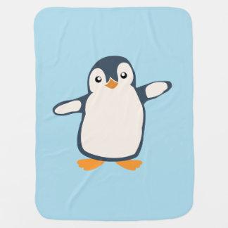 Mantita Para Bebé Ejemplo del bebé del abrazo del pingüino