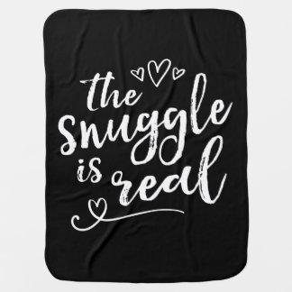 Mantita Para Bebé El Snuggle es cita divertida real