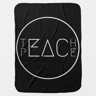 Mantita Para Bebé Enseñe a la paz