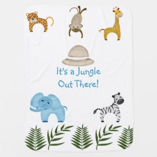 Mantita Para Bebé ¡Es una selva hacia fuera allí!