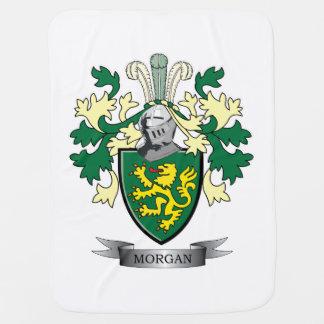 Mantita Para Bebé Escudo de armas del escudo de la familia de Morgan