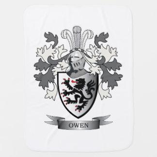 Mantita Para Bebé Escudo de armas del escudo de la familia de Owen