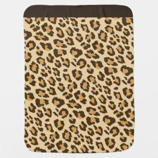 Mantita Para Bebé Estampado leopardo