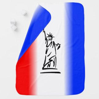 Mantita Para Bebé Estatua de la libertad Nueva York
