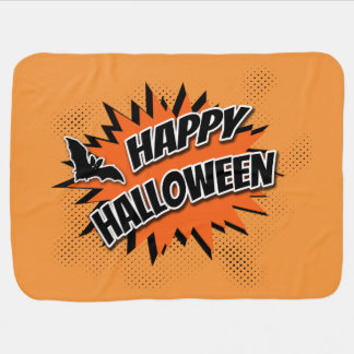 Mantita Para Bebé Feliz Halloween