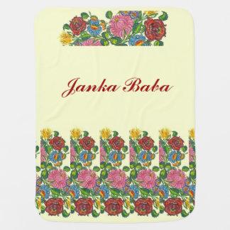 Mantita Para Bebé Flores húngaras para el bizcocho borracho de Janka