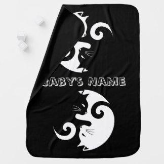 Mantita Para Bebé Gatitos de Yin Yang