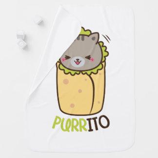 Mantita Para Bebé Gato y Burrito Purritp