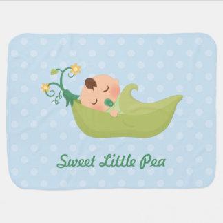 Mantita Para Bebé Guisante de olor en una vaina para el bebé