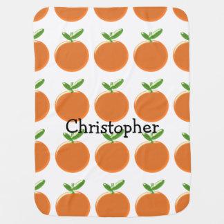 Mantita Para Bebé Los naranjas apenas añaden nombre