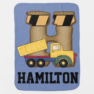 Mantita Para Bebé Los regalos personalizados de Hamilton