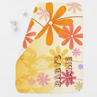 Mantita Para Bebé Mariposas de la flor del duendecillo
