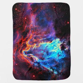 Mantita Para Bebé Nebulosa compuesta de la estrella del color