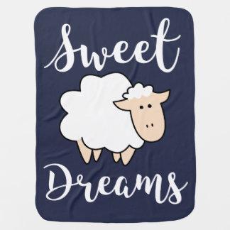 Mantita Para Bebé Ovejas del dibujo animado de los sueños dulces