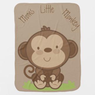 Mantita Para Bebé Pequeño mono de las mamáes