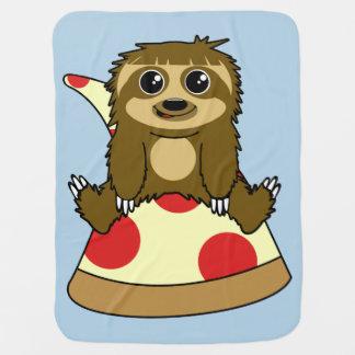 Mantita Para Bebé Pereza de la pizza
