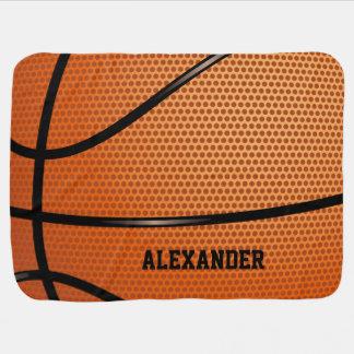Mantita Para Bebé Personalizar del nombre del modelo del baloncesto