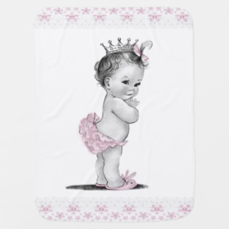 Mantita Para Bebé Princesa del vintage