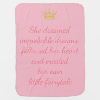 Mantita Para Bebé Princesa Dreams