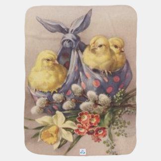 Mantita Para Bebé Recogida de los polluelos de Pascua