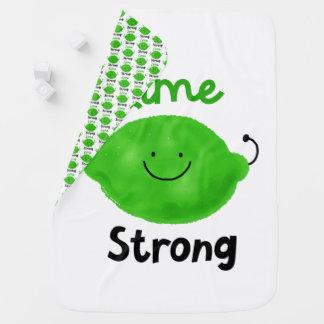 Mantita Para Bebé Retruécano positivo de la cal - cal fuerte