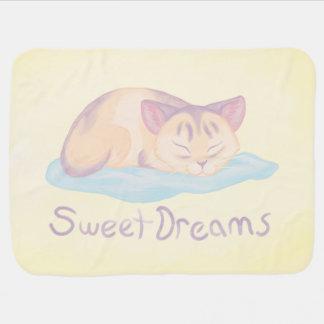Mantita Para Bebé Sueño del gatito
