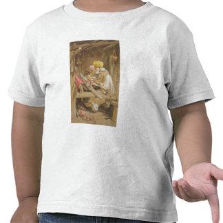 Mantones de la cachemira: El tejer, 1863 Camiseta