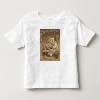 Mantones de la cachemira: El tejer, 1863 Camisetas