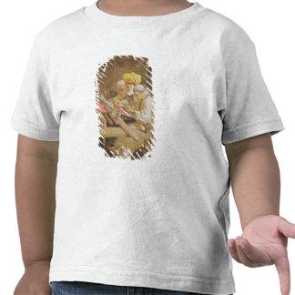 Mantones de la cachemira El tejer 1863 chromoli Camiseta