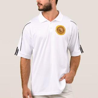Mantra tibetano Yin Yang Polo Camiseta