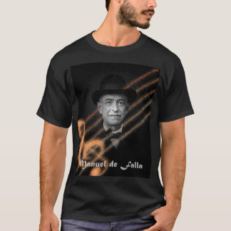 Manuel de FAlla Camiseta