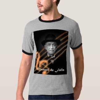 Manuel de Falla. Camiseta