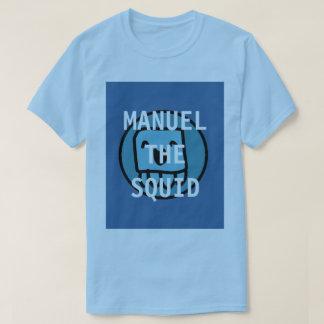 Manuel la camiseta azul clara del calamar YT