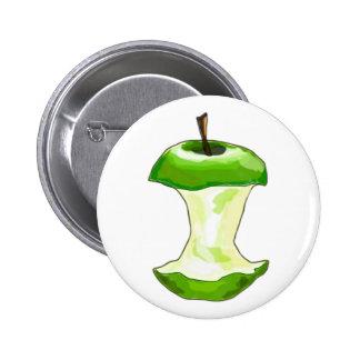 Manzana carcasa de manzana Apfelbutzen core apple