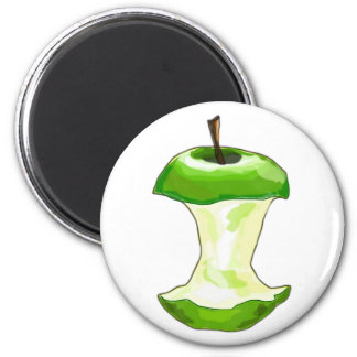Manzana carcasa de manzana Apfelbutzen core apple Imanes Para Frigoríficos