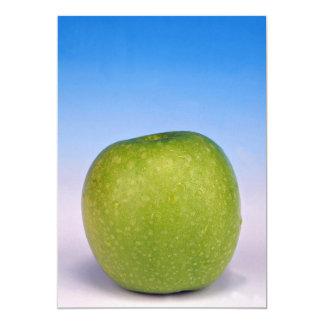manzana verde jugosa invitacion personal