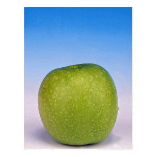 manzana verde jugosa postal