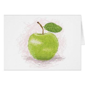 manzana verde felicitaciones