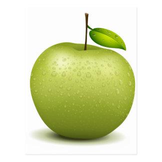 Manzana verde postales