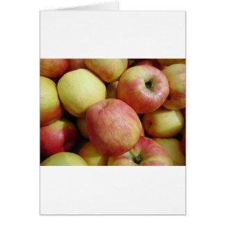 Manzanas Tarjeta